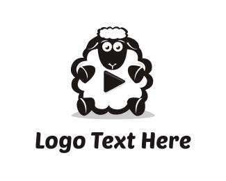 Play - Sheep Media logo design
