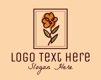 Frame - Flower Shop Frame logo design