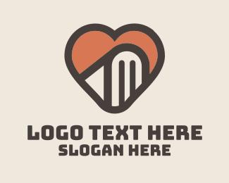 Matchmaking - Heart Book logo design
