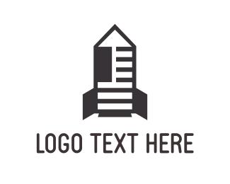 Newspaper - News Rocket logo design