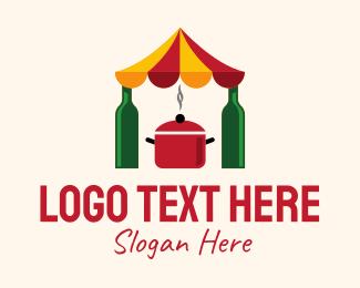 Parade - Cooking Festival Celebration logo design