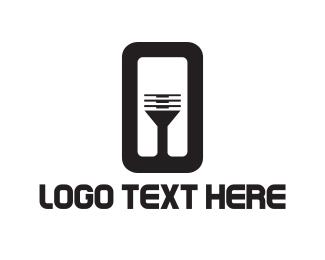 Number 0 - Black Table logo design