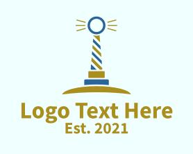 Light - Light House Ring logo design