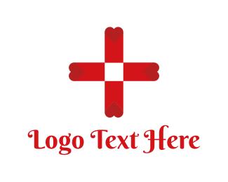 Switzerland - Blood Bank Cross logo design