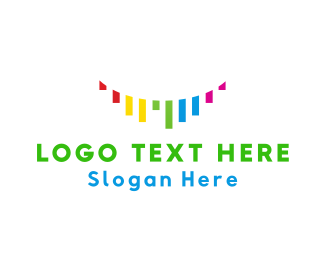 Colorful Ribbons Logo