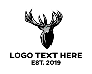 Gray - Gray Moose gaming logo design
