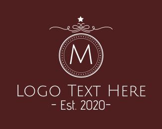 Detailed - Luxurious Detailed Crest Lettermark logo design