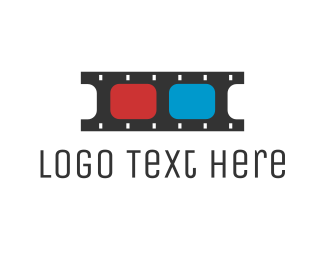 Cinematography - 3D Film  logo design