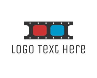 Youtube - 3D Film  logo design