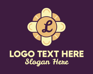 Slot Machine - Elegant Casino Table Lettermark logo design