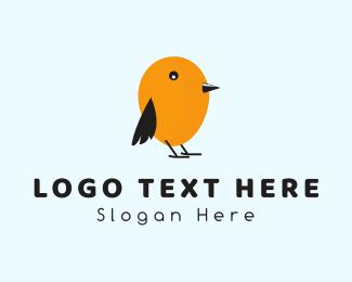 Little - Egg Bird logo design