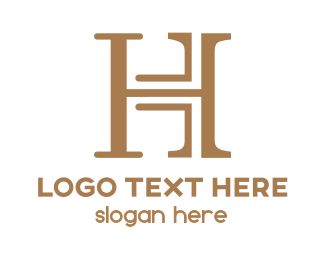 Classic - Modern & Classic H logo design