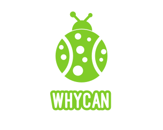 Bug Tennis Bug logo design
