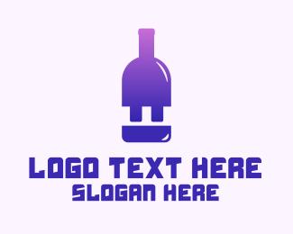 Bar - Electric Bar logo design