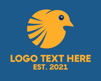 Sparrow - Sparrow Bird logo design