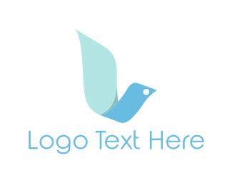 Ribbon - Ribbon Dove logo design