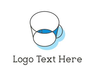 Fish & Cup Logo