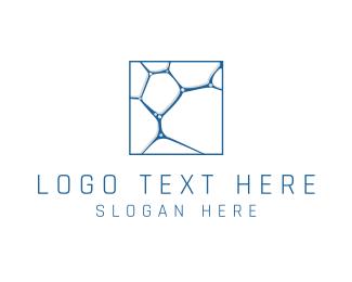 Tile - Cell Structure logo design