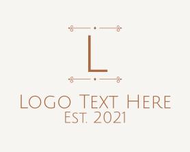Company - Simple Classic Letter logo design