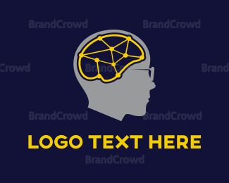 Connection - Brain Connections logo design