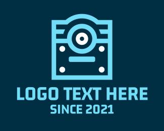 Book Club - Online Cyclops Book logo design