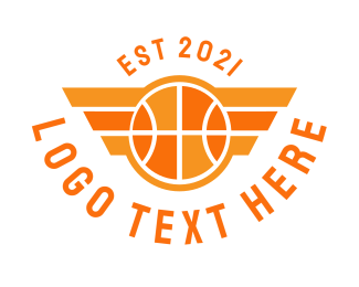Wings - Basketball Wing logo design