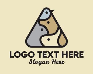 Pet Store - Pet Store Triangle logo design