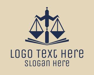 Scale - Legal Balance logo design