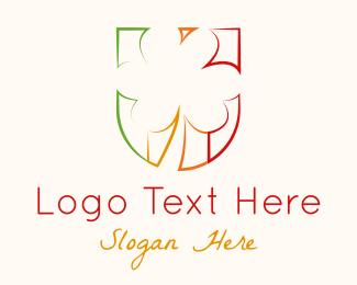 Lucky - Lucky Shamrock Emblem logo design