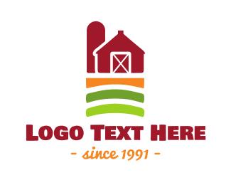 Agritech - Farm Barn logo design
