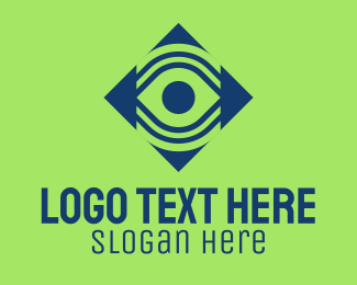 Digital - Digital Eye Surveillance logo design