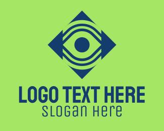 Spy - Digital Eye Surveillance logo design