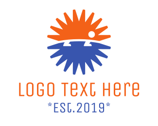 Hedgehog - Hedgehog Asterisk logo design