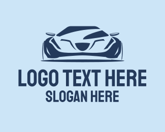 Sports Car Rental - Cool Sports Car  logo design