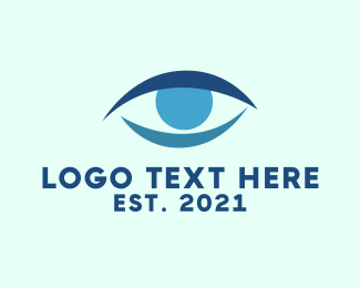 Eyebrow - Blue Eye logo design