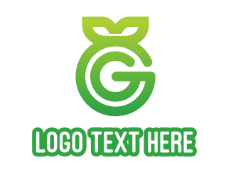 """Green Leaf G"" by eightyLOGOS"