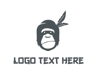 Grey - Grey Gorilla logo design