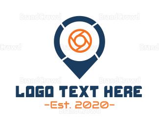 Photo - Photo Point logo design