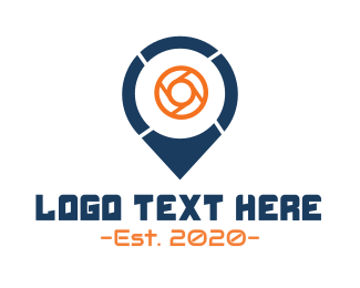 Point - Photo Point logo design