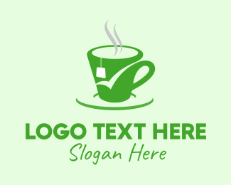 Approved - Green Tea Cup logo design