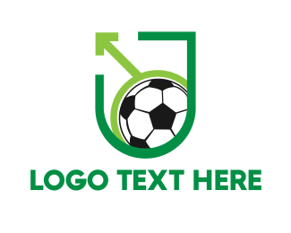 Federation - Pro Soccer Shield logo design