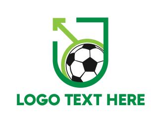 """Pro Soccer Shield"" by LogoBrainstorm"