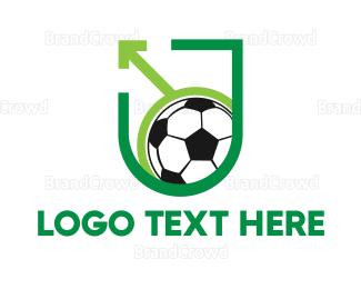 Federation - Pro Soccer Shield logo design