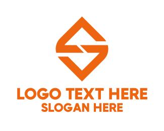 Financial - Financial Diamond Letter S logo design