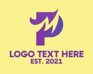 Pj - M & P Company Monogram logo design