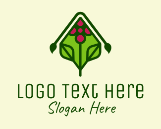 Grapes - Organic Grape Vineyard logo design