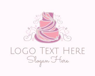 Bake - Wedding Cake logo design