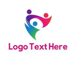 Staff - Human Team  logo design
