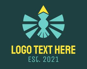 Light - Flying Light Post logo design
