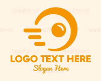 Fast Food - Fast Food Egg logo design